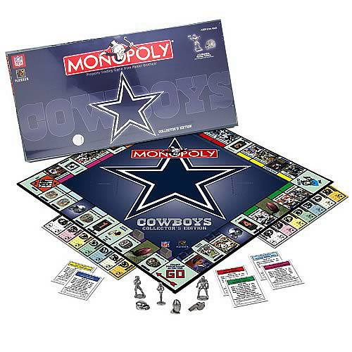 Dallas Cowboys 2006 Edition Monopoly