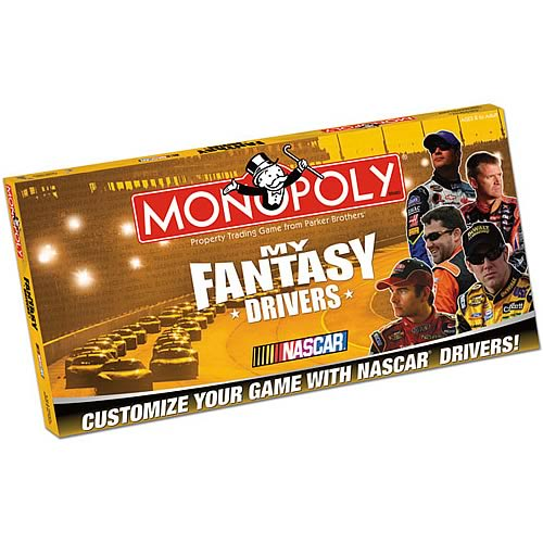 My NASCAR Drivers Monopoly