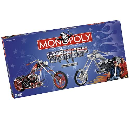 American Chopper Collector's Edition Monopoly