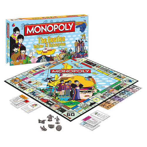Beatles Yellow Submarine Edition Monopoly