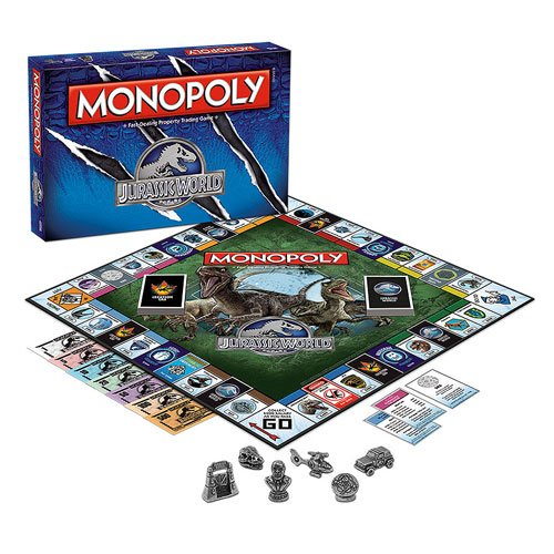 Monopoly Goes Jurassic