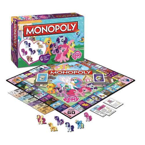 My Little Pony Friendship is Magic Edition Monopoly