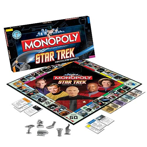 Star Trek Monopoly Game Continuum Edition