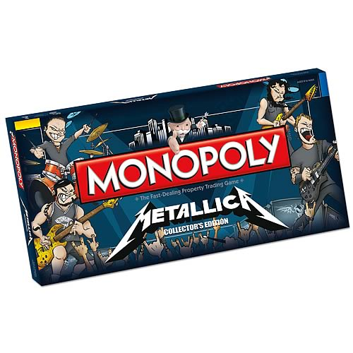 Metallica Collector's Edition Monopoly