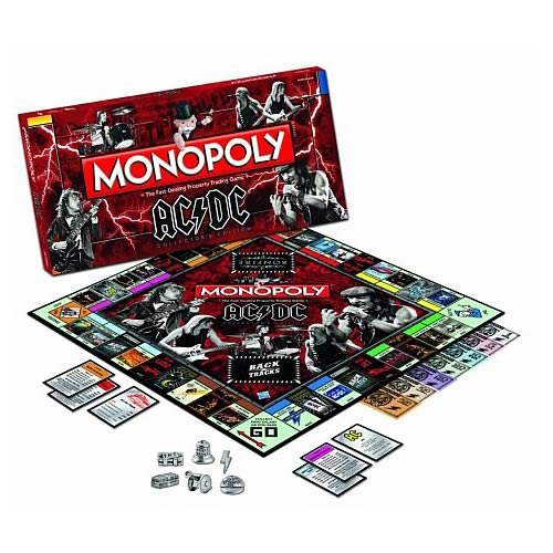 AC/DC Collector's Edition Monopoly