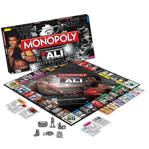 Muhammad Ali Collector's Edition Monopoly
