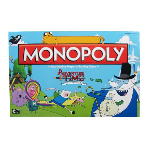 Adventure Time Collector's Edition Monopoly