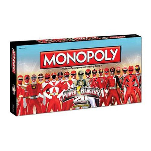 Power Rangers 20th Anniversary Edition Monopoly