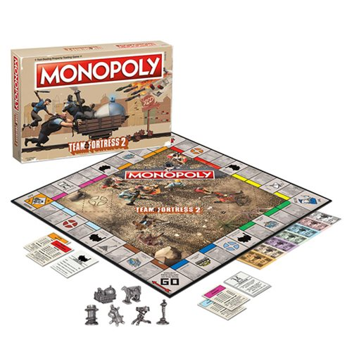 Team Fortress 2 Monopoly Game