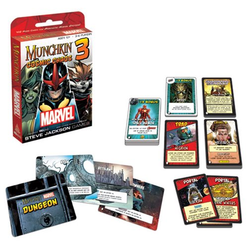 Marvel Munchkin #3 Cosmic Chaos Game