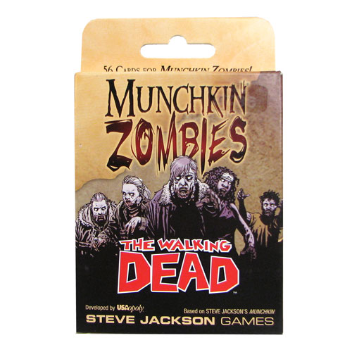 Munchkin Zombies The Walking Dead Game
