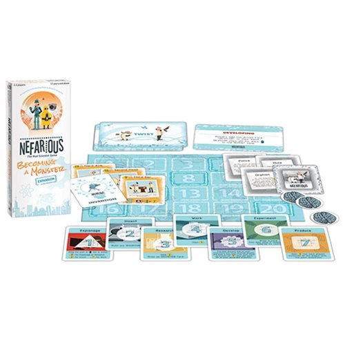 Nefarious Becoming a Monster Expansion Game