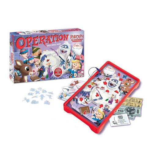 Rudolph the Red-Nosed Reindeer Collector's Operation Game