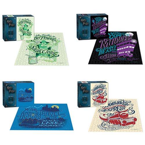 Harry Potter 200-Piece Puzzle Set