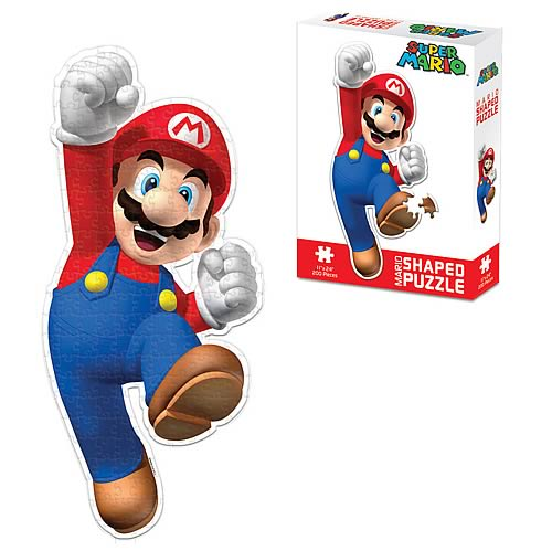 Nintendo Mario-Shaped Puzzle