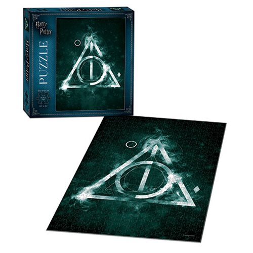 Harry Potter The Deathly Hallows 550-Piece Puzzle