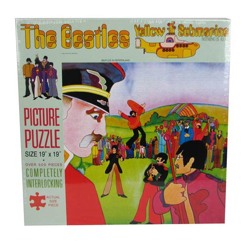 Beatles Yellow Submarine Puzzle