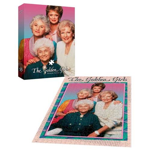 Golden Girls 1000-Piece Puzzle