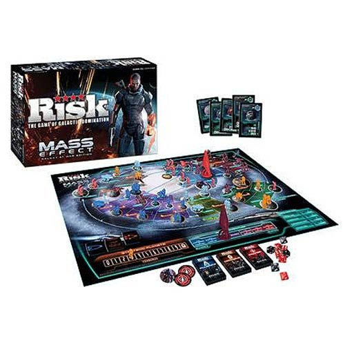 Mass Effect Galaxy at War Edition Risk Board Game