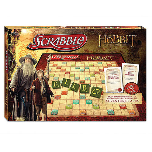The Hobbit An Unexpected Journey Collector's Scrabble