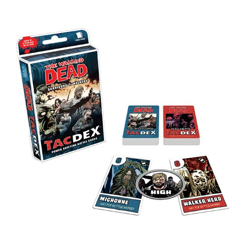 The Walking Dead Comic Book TacDex Card Game