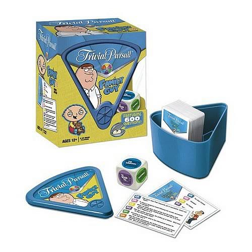 Family Guy Quick Play Collector's Edition Trivial Pursuit