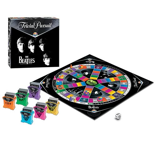The Beatles Trivial Pursuit Game Collectors Edition