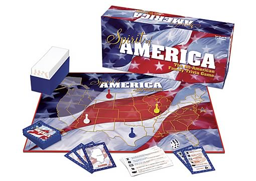 Spirit of America Family Trivia Game