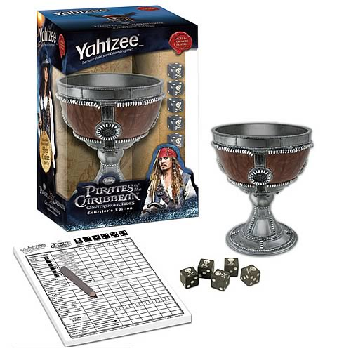 POTC On Stranger Tides Collector's Edition Yahtzee