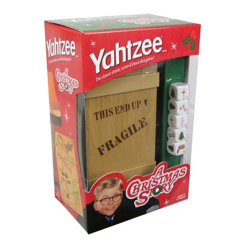 A Christmas Story Edition Yahtzee Game