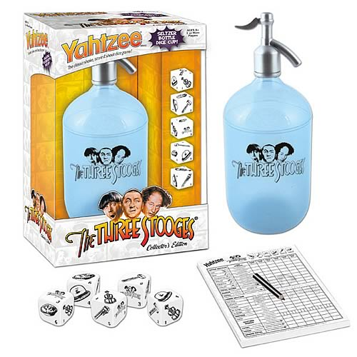 Three Stooges Collector's Edition Yahtzee