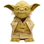 Star Wars Yoda 8 1/2-Inch Talking Plush