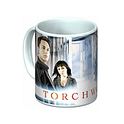Torchwood Jack Harkness and Gwen Cooper Mug