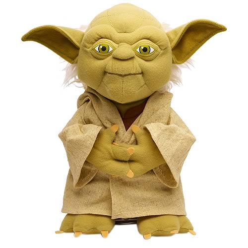 Star Wars Yoda 15-Inch Talking Plush