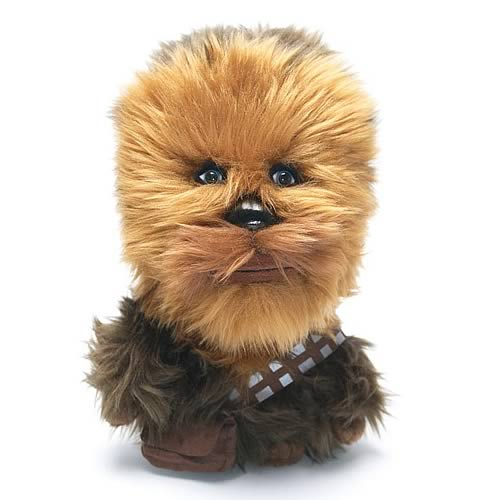 Star Wars Chewbacca 8 1/2-Inch Talking Plush