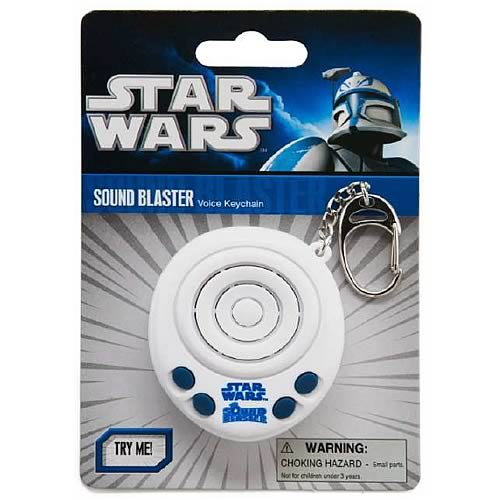 Star Wars Sound Blaster Voice Key Chain
