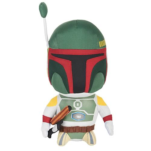 Star Wars Talking 9-Inch Boba Fett Plush