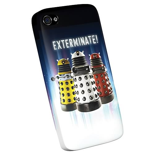 Doctor Who Daleks iPhone 4 Plastic Cover