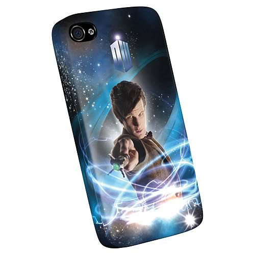 Doctor Who Eleventh Doctor iPhone 4 Plastic Cover