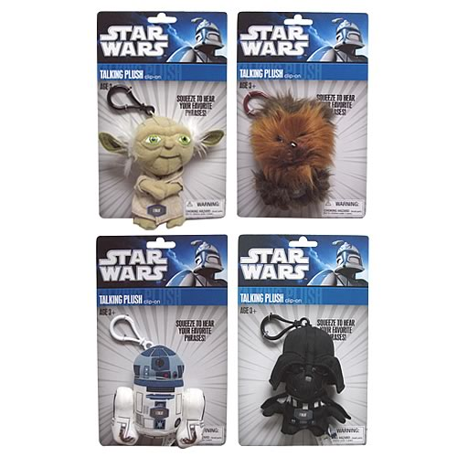 Star Wars Mini Talking Plush Wave 1 Case