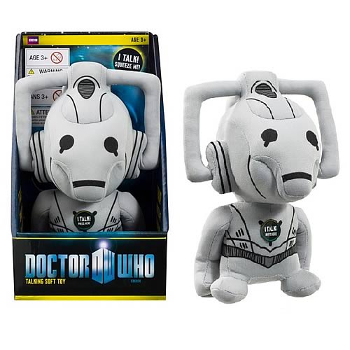 Doctor Who Cyberman Medium Sized Talking Plush