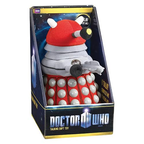 Doctor Who Medium Talking Red Dalek Plush