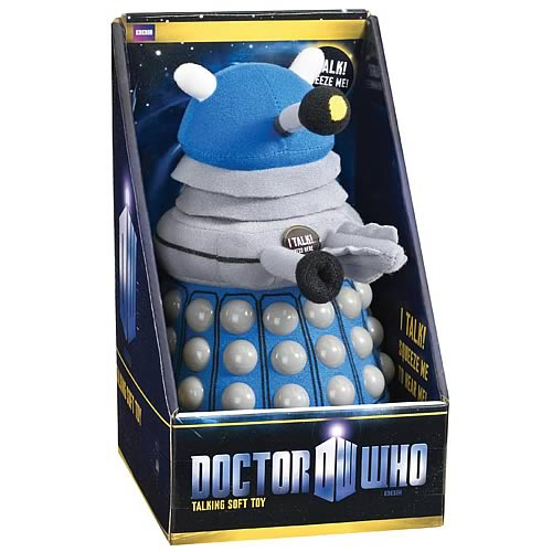 Doctor Who Medium Talking Blue Dalek Plush