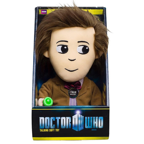 Doctor Who Eleventh Doctor Medium Talking Light-Up Plush