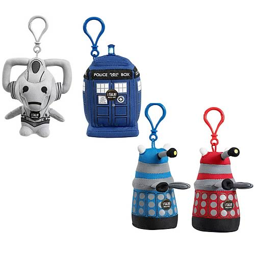Doctor Who Mini Talking Plush Wave 1 Case