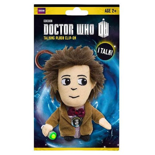 Doctor Who Eleventh Doctor Talking Plush Key Chain