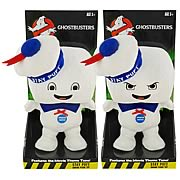 Ghostbusters Stay Puft Marshmallow Man Singing Plush Set