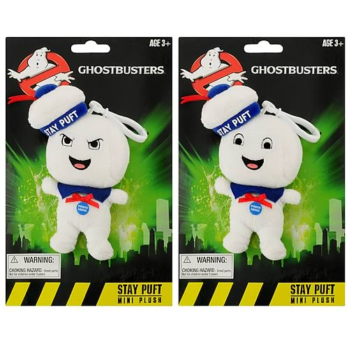 Ghostbusters Stay Puft Man Mini Singing Plush Set