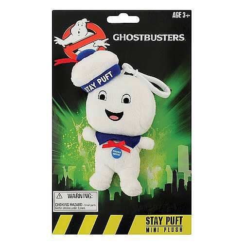 Ghostbusters Stay Puft Man Happy Face Mini Singing Plush