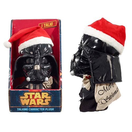 Star Wars Darth Vader Santa Medium Talking Plush
